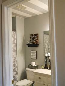 painted bathroom ideas striped bathroom ceiling hometalk