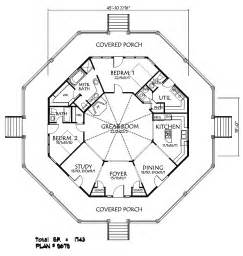 Octagon House Floor Plans by Floor Octagon House Plans