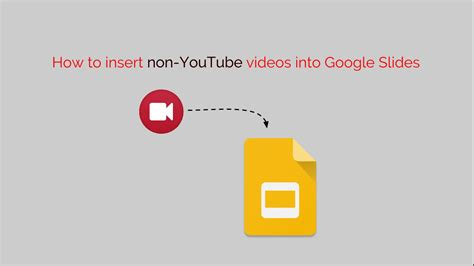how to put themes on google slides app how to insert non youtube videos into google slides youtube