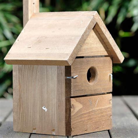 multi nesting bird box from national trust
