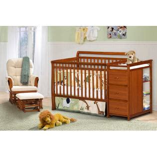 Crib With Changing Table Combo Dorel Crib Changing Table Combo Cherry