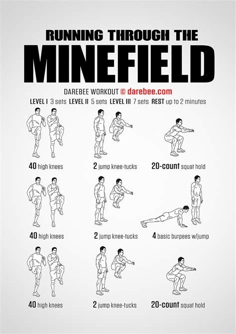 hiit at home workout of the week running through the