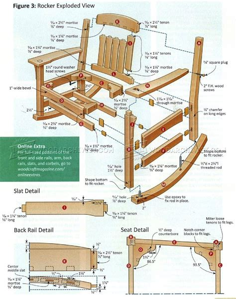 rocking chair plans woodworking 30 excellent woodworking plans rocking chair egorlin