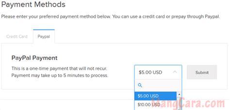 cara membuat vps digitalocean cara membayar tagihan vps digitalocean dengan paypal