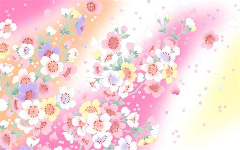 design background flower flower graphic walldevil