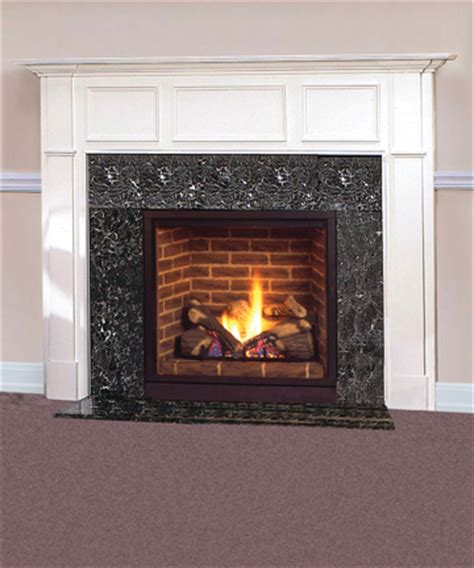 majestic 36 quot solitaire direct vent gas fireplace with