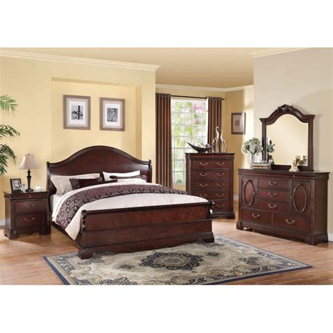 4pc bedroom set beverly 4pc bedroom set