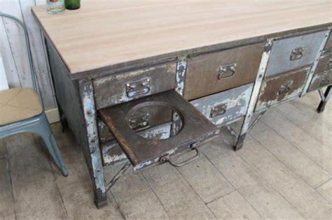 retro kitchen island vintage industrial metal kitchen island work bench