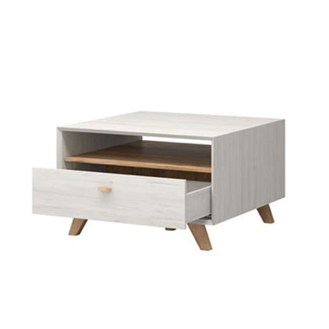 Aiden Coffee Table Aiden Wooden Coffee Table In Pine White And Navarra Oak