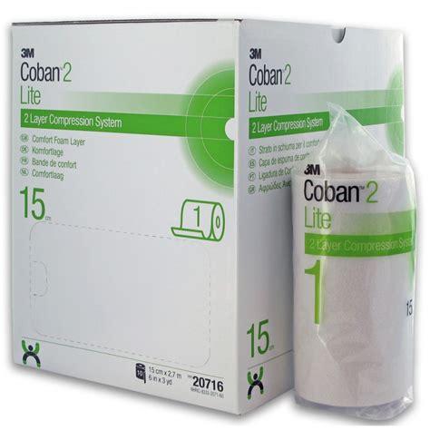 comfort ltey coban 2 lite compression system comfort foam layer 15cm