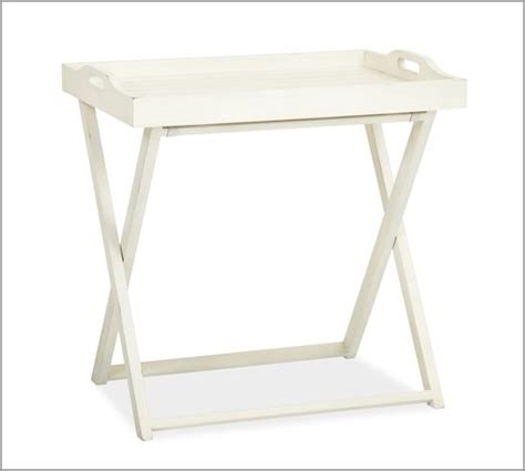 Bedside Tray Table by Lachlan Tray Bedside Table Pottery Barn