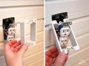 Adding Wainscoting How To Add An Outlet Extender Pretty Handy