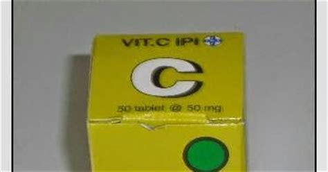 Vitacimin Vitamin C Bungkus kandungan khasiat vit c ipi obat sakit
