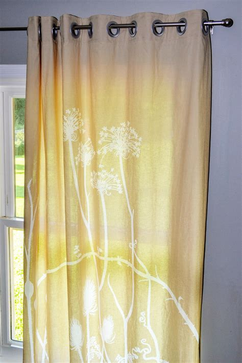 how to make drapes with grommets how to make grommet curtains hgtv
