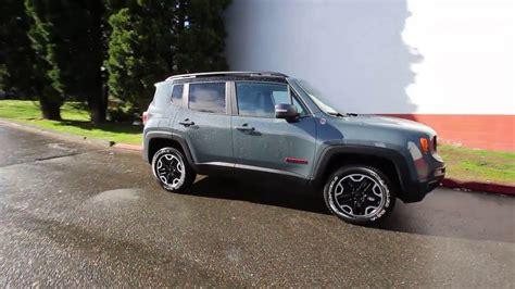 anvil jeep trailhawk 2016 jeep renegade trailhawk anvil gpc56544 redmond