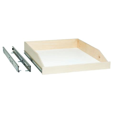Sliding Shelf Hardware Home Depot by Slide A Shelf Made To Fit Slide Out Shelf 6 In To 36 In