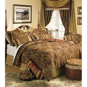 sherry china brown 6 comforter set