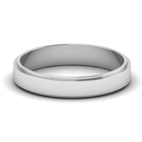 costco mens wedding bands hammered look white gold s