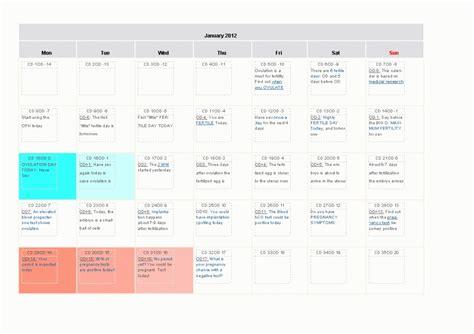 My Ovulation Calendar Printable Ovulation Calendar 187 Calendar Template 2017