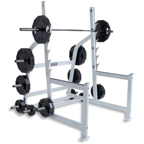 Olympic Weight Bench Squat Rack by Hammer Strength Olympic Squat Rack Fitness