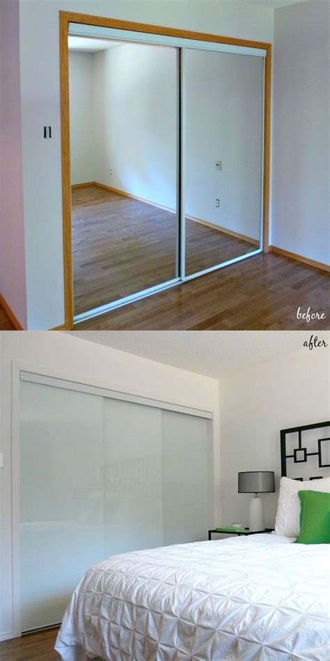 Update Mirrored Closet Doors 25 Best Ideas About Mirrored Closet Doors On Small Accordion Closet Doors And