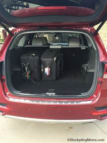 Cargo Space Kia Sorento 2016 Kia Sorento Review