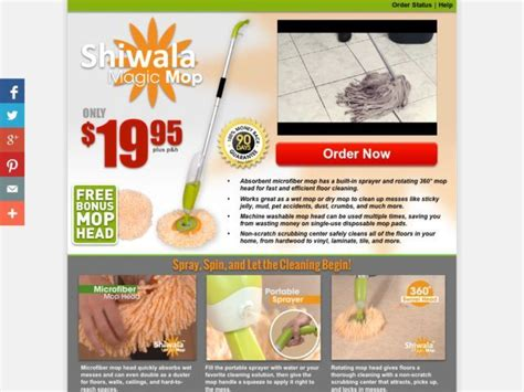 "Shiwala Magic Mop Reviews   ""nothing compares""?"