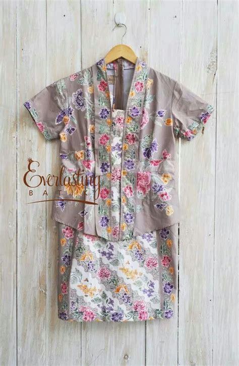Dress Flora Batik Bahan 33 best inspirasi kebaya images on kebaya indonesia dress and feminine fashion