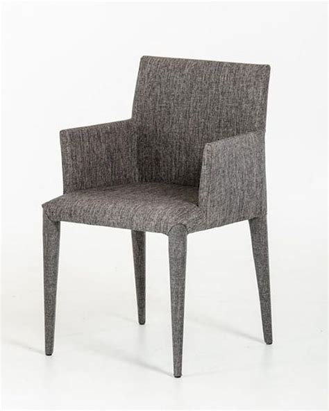 contemporary grey fabric dining chair 44d8219ch