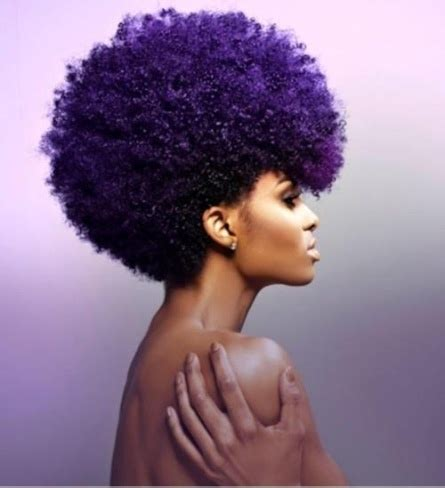 natural hairstyles with dye natural afro hairstyles for black women to wear