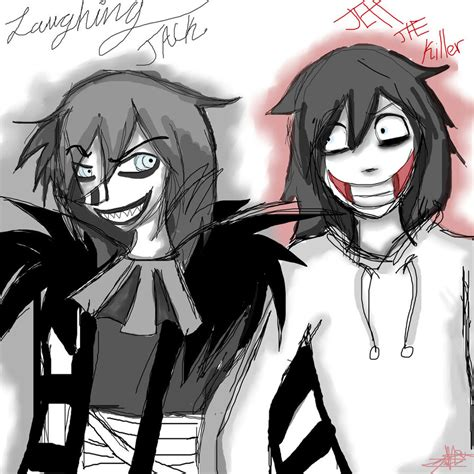 imagenes de jack y jeff laughing jack y jeff the killer by pbo artistica on deviantart