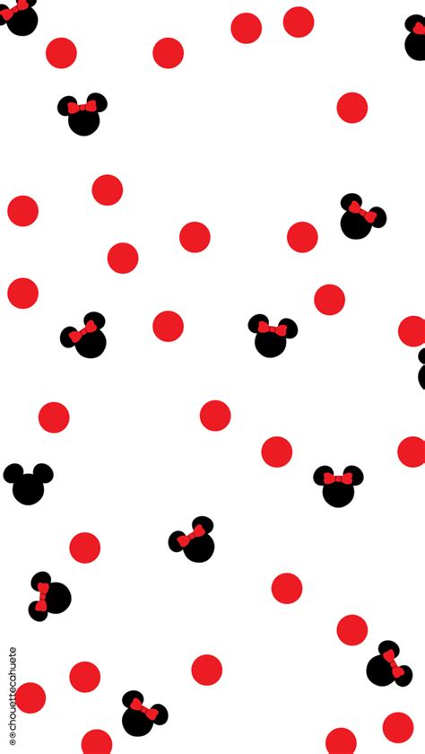 background pattern mickey cute minnie wallpaper image 3191486 by saaabrina on