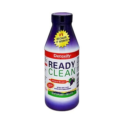Ready Clean Detox Drink Reviews by Detoxify Ready Clean Herbal Grape 16 Fl Oz