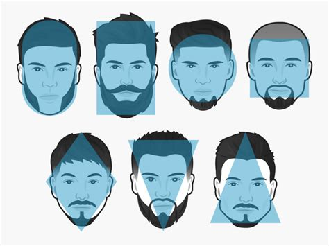rectangle face shape hairstyles for men with beards the best beard for every face shape business insider