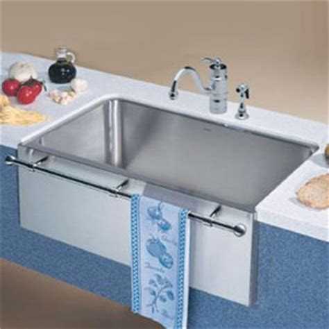 blanco apron front sink white gold