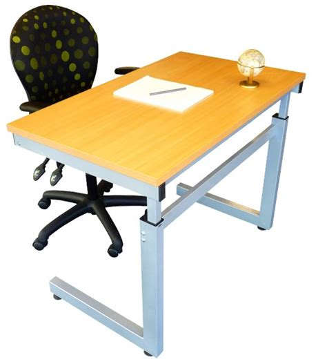 build your own adjustable height desk height adjustable desk frames 2 height ranges made in