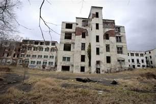 Abandoned Buildings inside the abandoned henryton state hospital