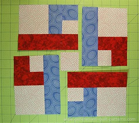 Chain Quilt Pattern Free by Chain Link Quilt Block Pattern 7 Quot 10 1 2 Quot And 14 Quot