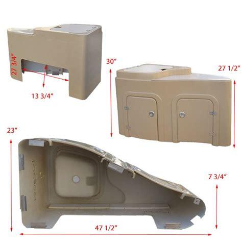 pontoon boat sink godfrey camel pontoon boat galley sink hatch storage