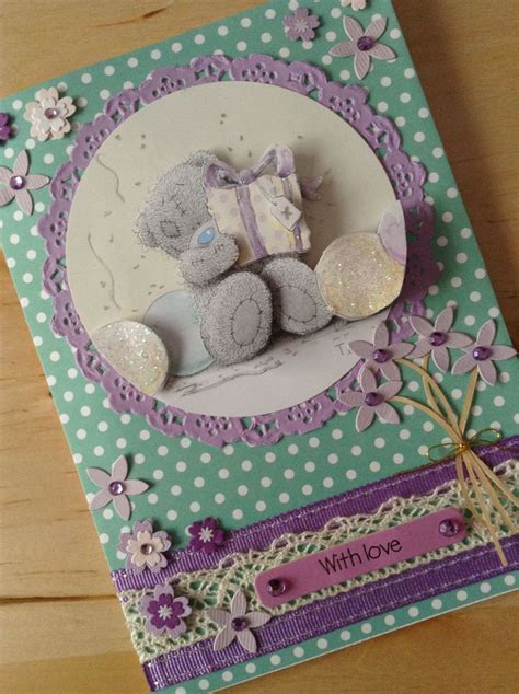 Handmade Teddy Cards - 29 best images about tatty ted cards on