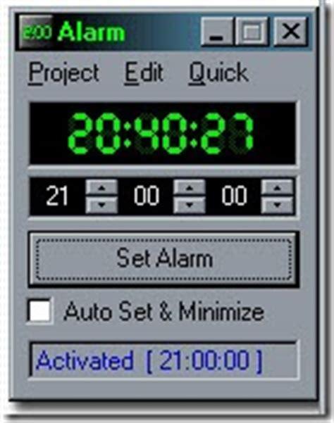 computer alarm clock software  windows