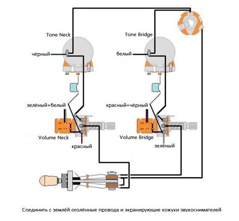 gibson burstbucker wiring diagram gibson wiring diagram