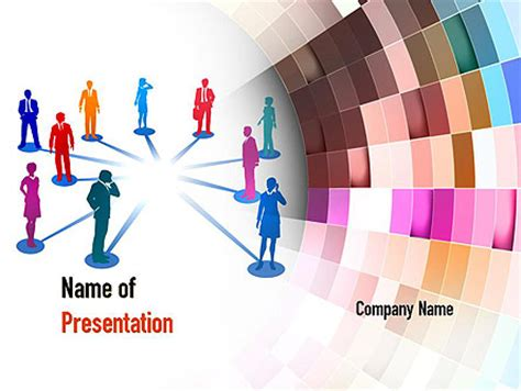 human resource management presentation template for