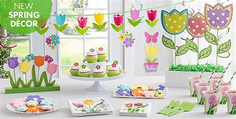 spring themed work events spring party supplies themes decorations party city