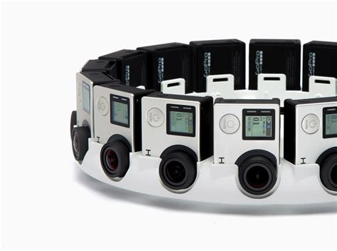 google jump design gopro to make 16 camera vr film rig based on google s