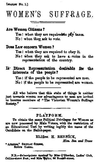 While New Zealand had granted women the right to vote in