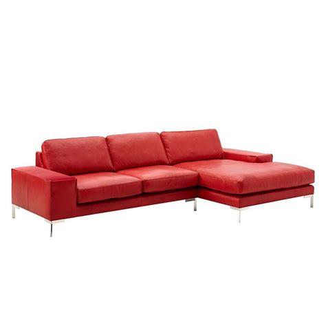 Ottomane Leder Rot by Die 25 Besten Ideen Zu Rote Ledersofas Auf