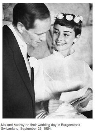 Wedding Hair Like Hepburn by La Top 10 Delle Icone Degli Abiti Da Sposa Fairytale