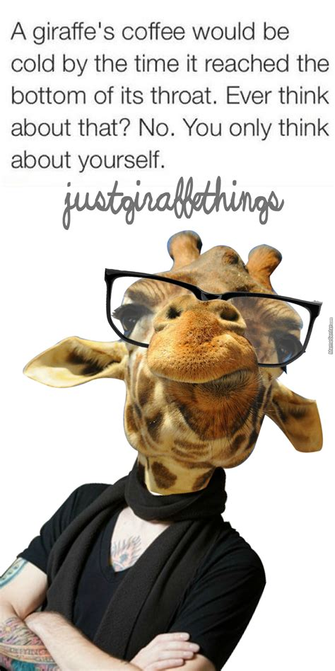 Giraffe Birthday Meme - barista giraffe does not approve by tigerman180 meme center