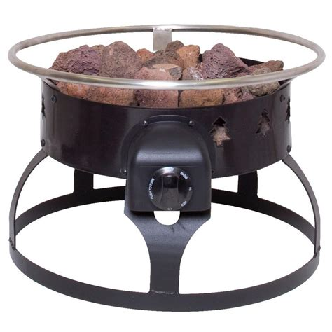 C Chef Redwood Portable Propane Gas Fire Pit Gclogd Portable Firepits